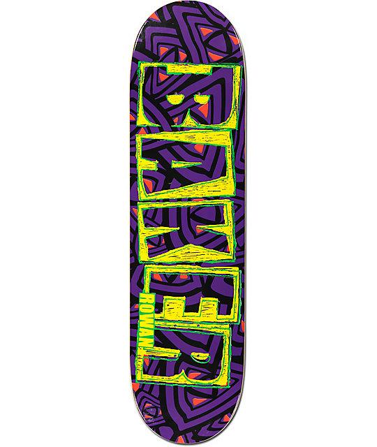 baker rowan brand name 825quot skateboard deck