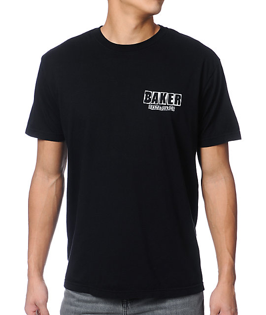 Baker Skateboards Brand Logo Black T-Shirt