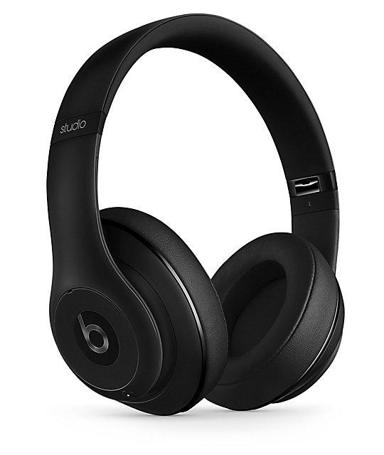 Beats By Dr Dre Studio 2 Matte Black Wireless Headphones