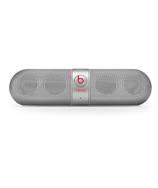 Beats By Dre Beats Pill 2.0 Silver Wireless Speaker