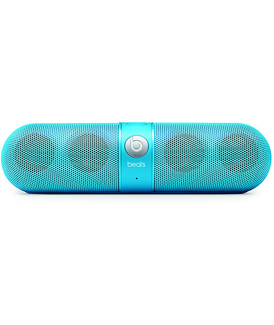 Beats By Dre Beats Pill Neon Blue Wireless Speakers