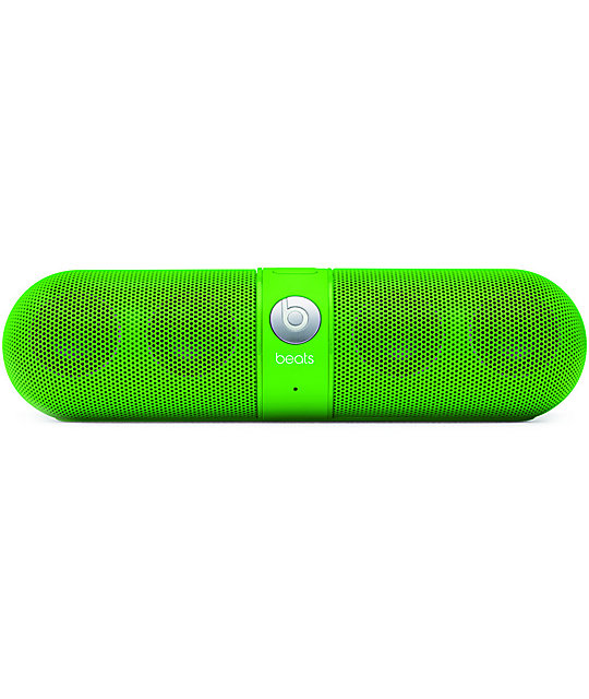 Beats By Dre Beats Pill Neon Green Wireless Speakers