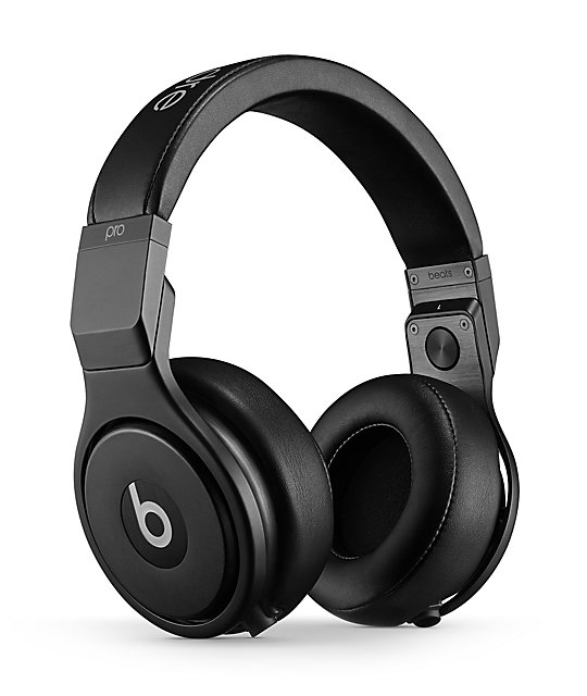 Beats By Dre Beats Pro Blackout Headphones