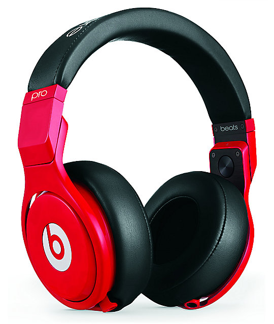 Beats By Dre Beats Pro Lil Wayne Red & Black LTD Headphones