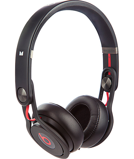 Beats by dre mixr black headphones at zumiez pdp
