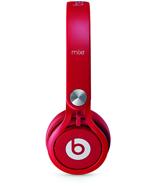 Beats By Dre Mixr Red Headphones