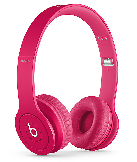 Beats By Dre Solo HD Monochrome Magenta Headphones