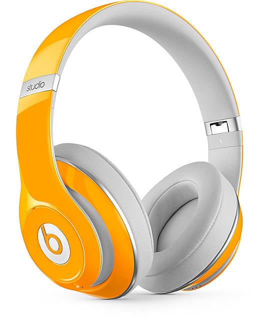 Beats By Dre Studio 2 Orange Headphones