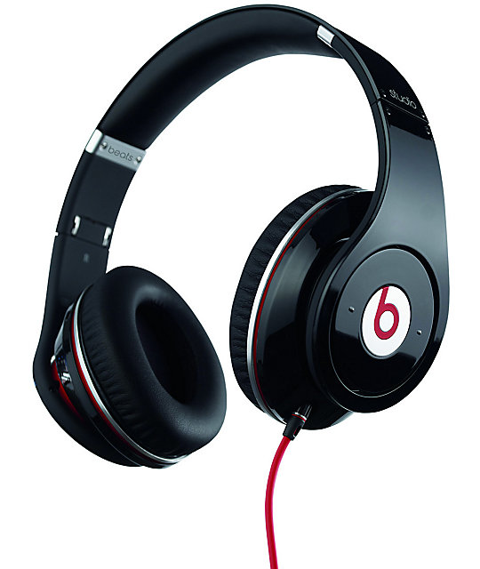 Beats By Dre Studio Black Headphones