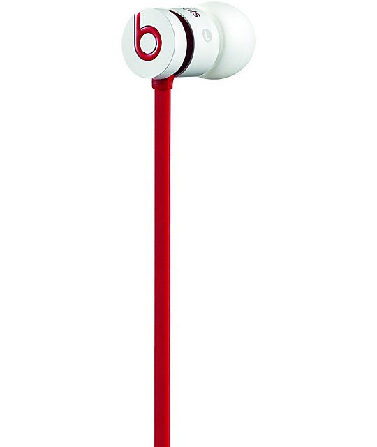 Beats By Dre UrBeats White Earbud Headphones