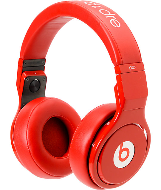 Beats By Dre x Lil Wayne Beats Pro All Red Limited Headphones