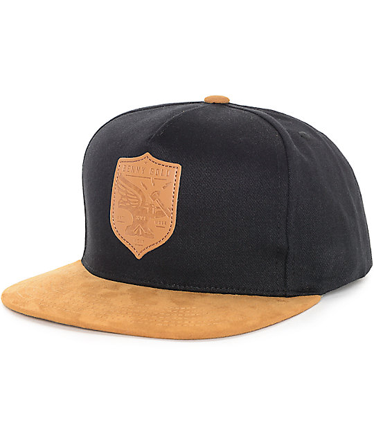 Benny Gold Forged In Flight Black Snapback Hat
