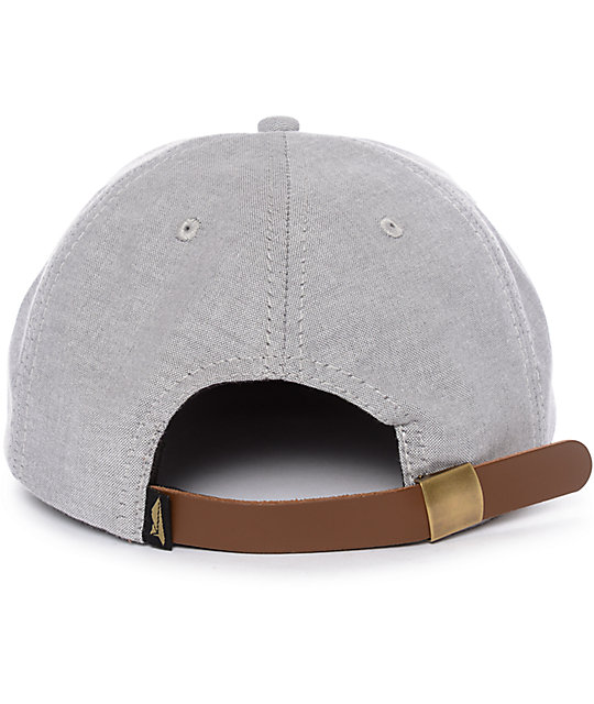 Benny Gold Glider Oxford Grey Strapback Hat