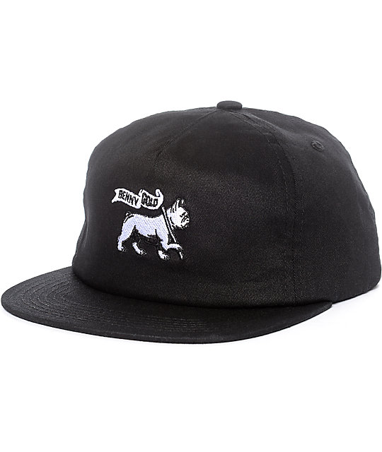 Benny Gold Lion Of Judah Black Snapback Hat