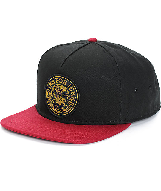 Benny Gold Lumberjack Snapback Hat