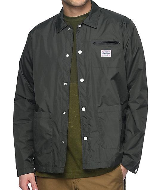 Benny Gold Nylon Chore Moss Coaches Jacket