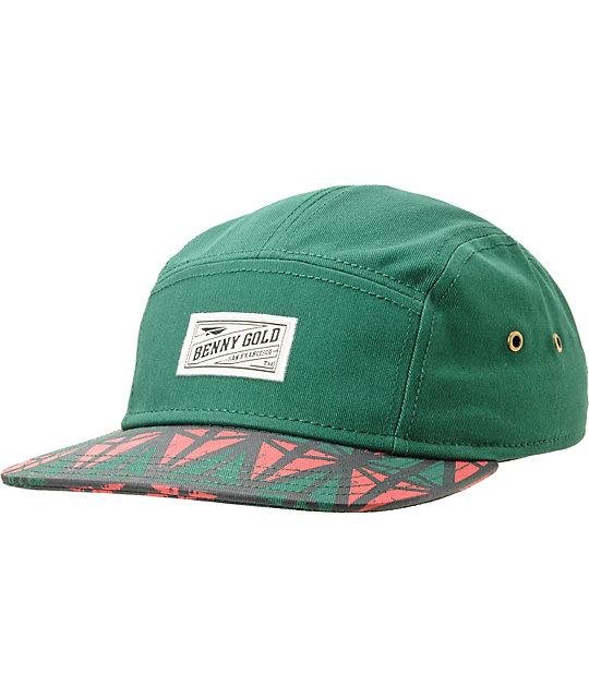 Benny Gold Origins Green 5 Panel Hat