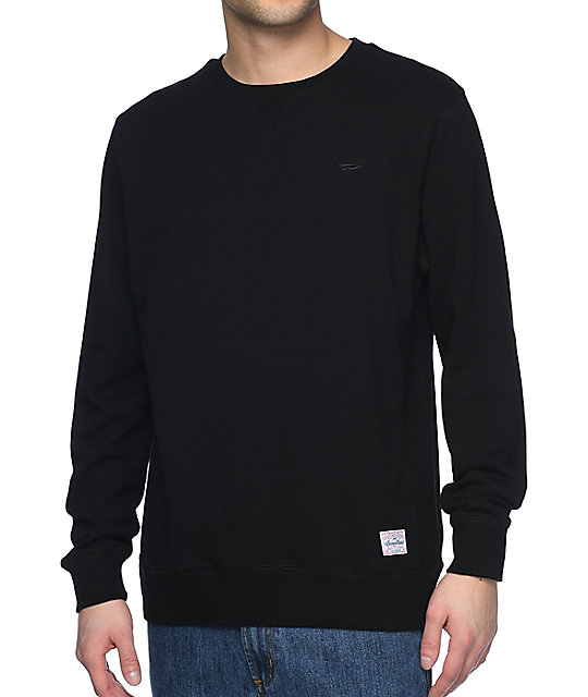 Gold Premium Black Crewneck Sweatshirt