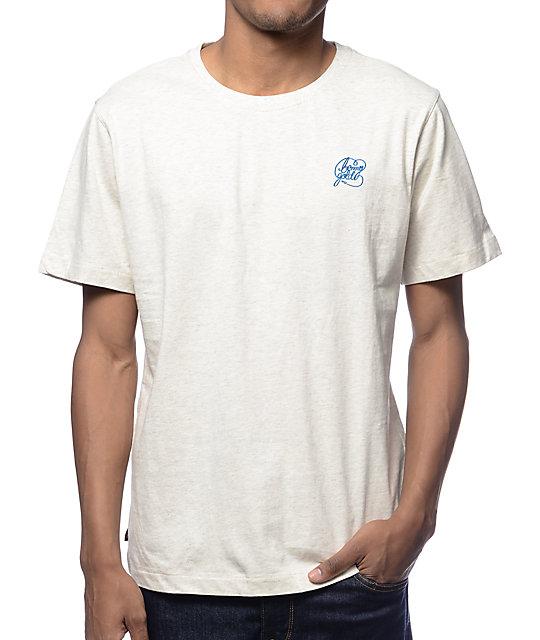 Benny Gold Premium Script Logo White T-Shirt