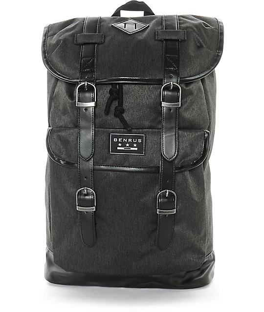 Benrus Scout Black Label Backpack