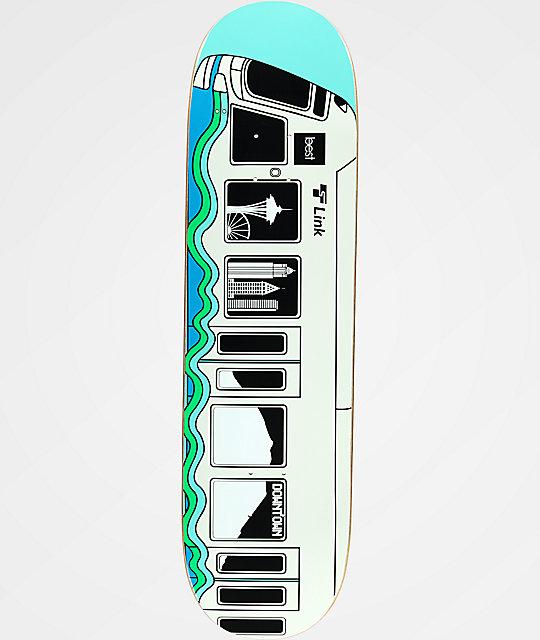"""Best Skate Co. Light Rail 8.5"""" Skateboard Deck"""