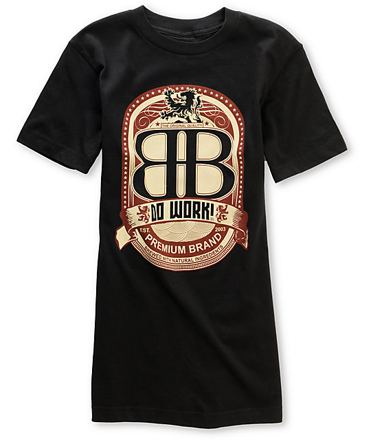 Big Black Brew Black T-Shirt