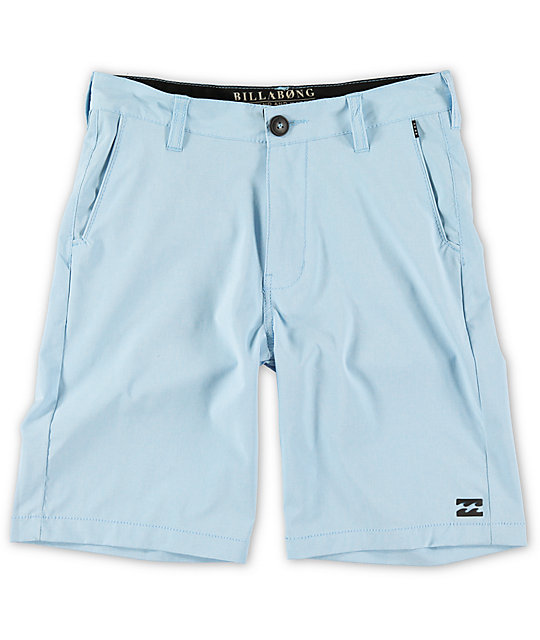 Billabong Boys Crossfire Coastal Blue Hybrid Shorts