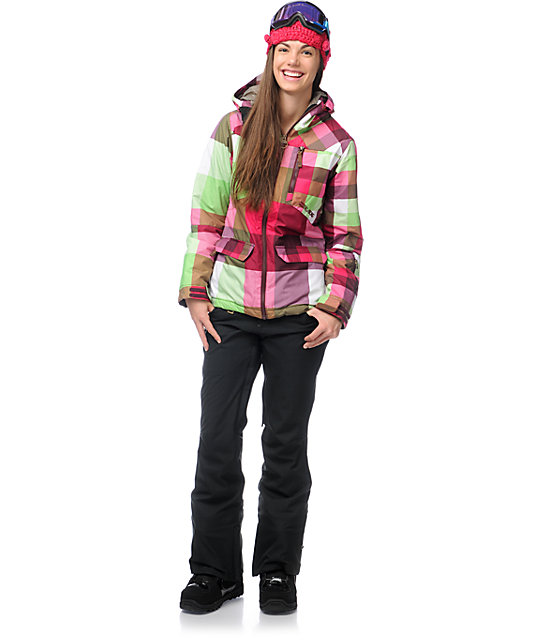 Billabong Check Your Booty 10K Snowboard Jacket