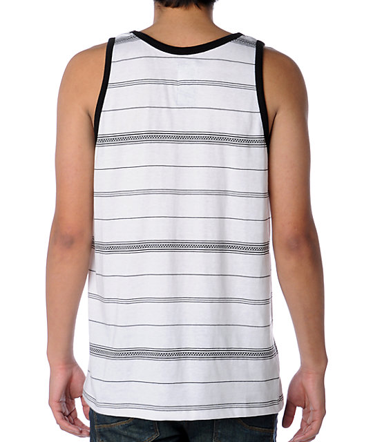 Billabong Classified White Tank Top