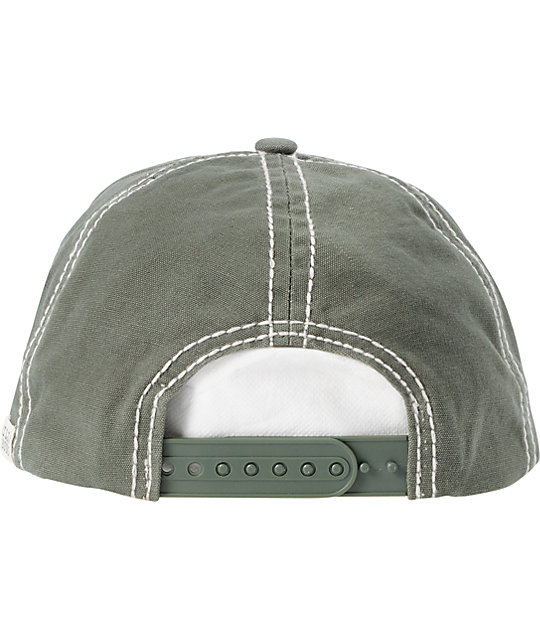 Billabong Do It Again Eagle Green Baseball Hat
