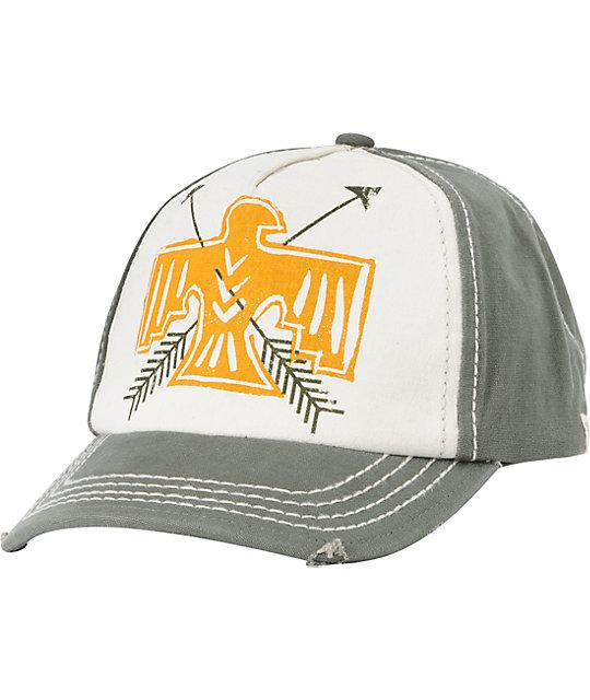 Billabong Do It Again Eagle Green Baseball Hat