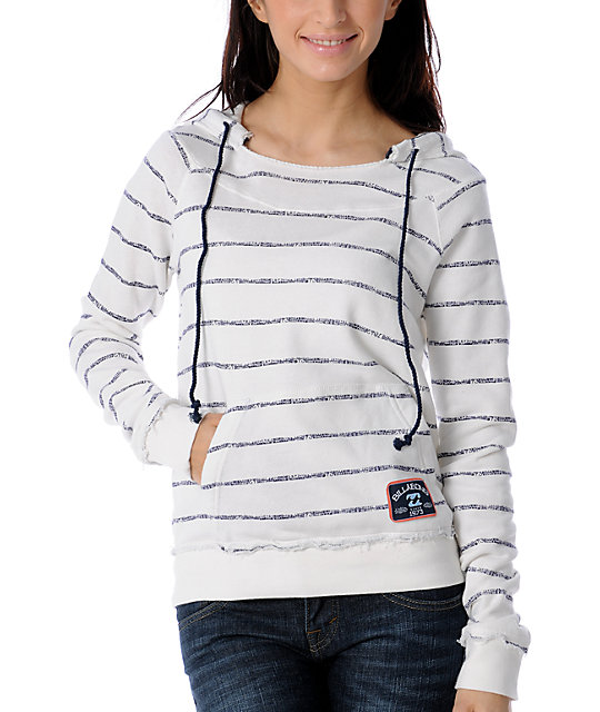 Billabong Enjoy Stripe Pullover Hoodie