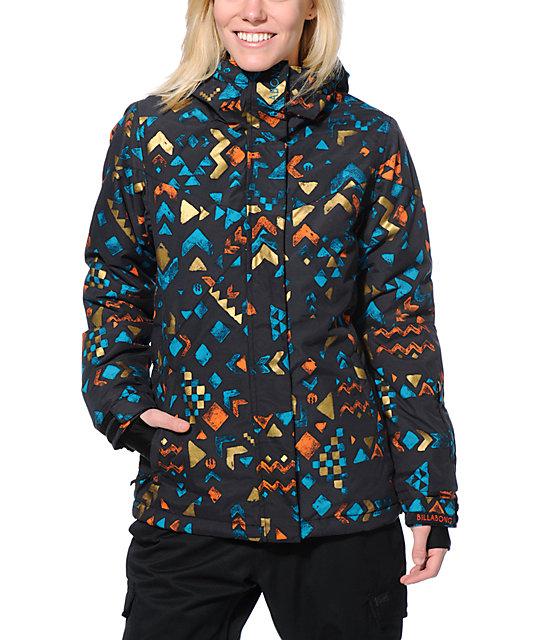 Billabong Flake Black 8K Snowboard Jacket