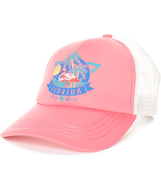 Billabong Florida Coral Trucker Hat