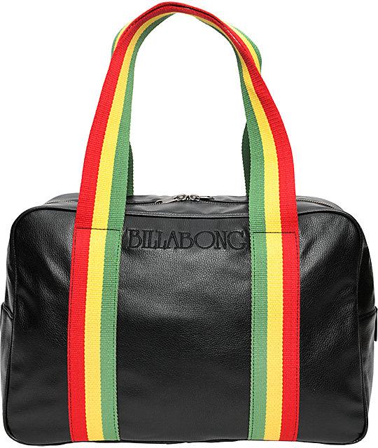 Billabong Girls No Woman Black Handbag