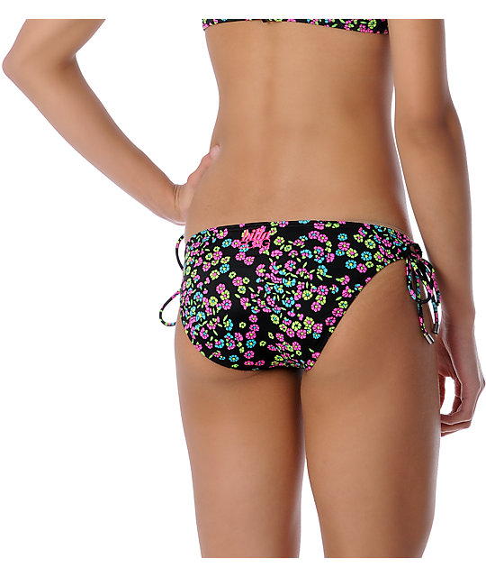 Billabong Itsy Ditsy Jordan Tie Side Bikini Bottom