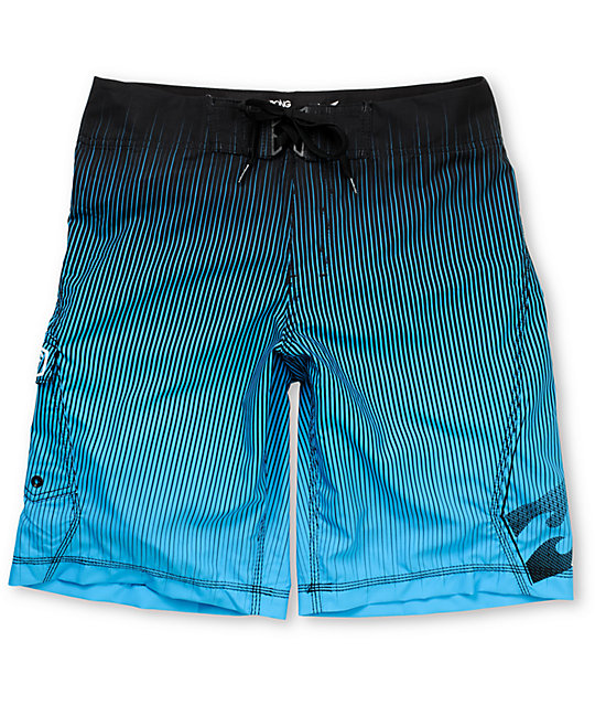 Billabong Jagger 21 Blue Stripe Board Shorts