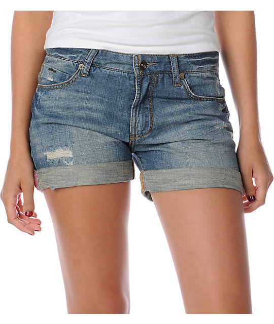 Billabong Jonny Denim Boyfriend Shorts