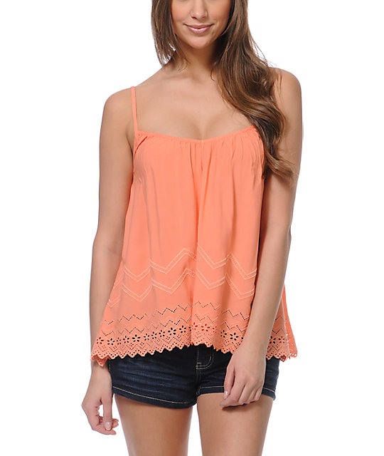 Billabong Livin Free Coral Tank Top