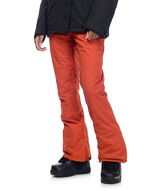 Billabong Malla Ketchup Red 10k Snowboard Pants