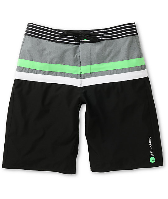 "Billabong Muted 21""  Neon Green Board Shorts"