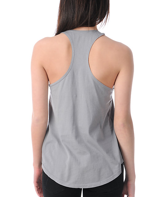 Billabong Nature Study Grey Tank Top