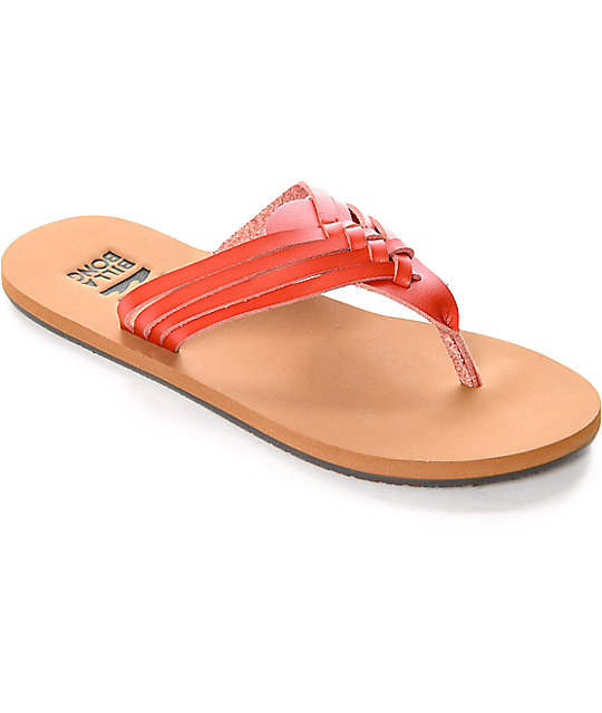 Billabong Panama Tango Red Sandals