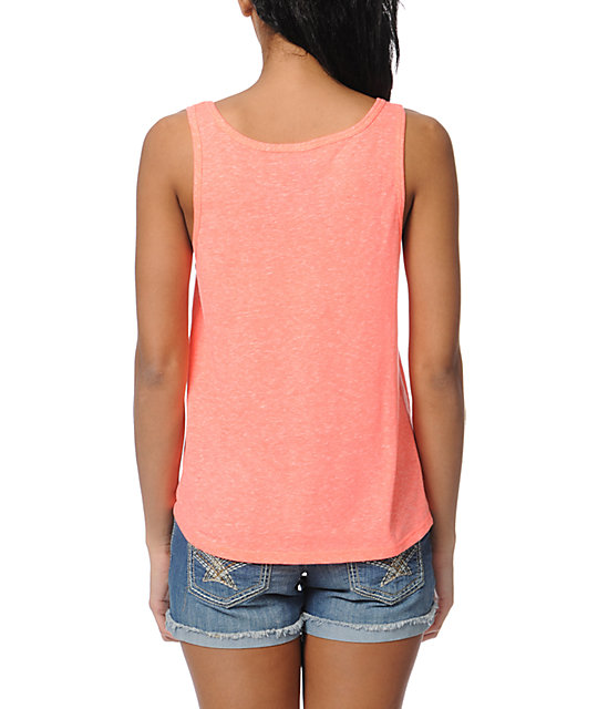 Billabong Paradising Coral Tank Top