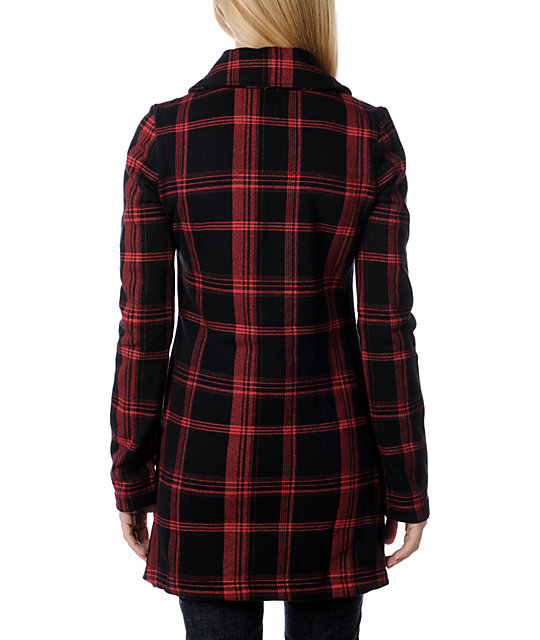 Billabong Penelope Red Jacket