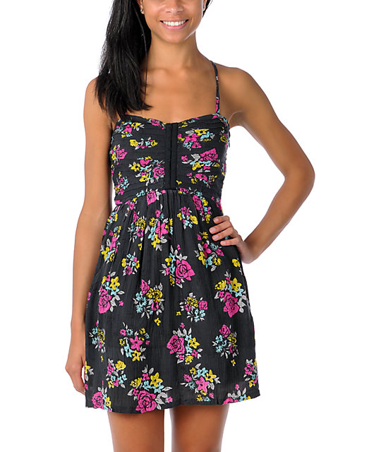 Billabong Portland Floral Dress