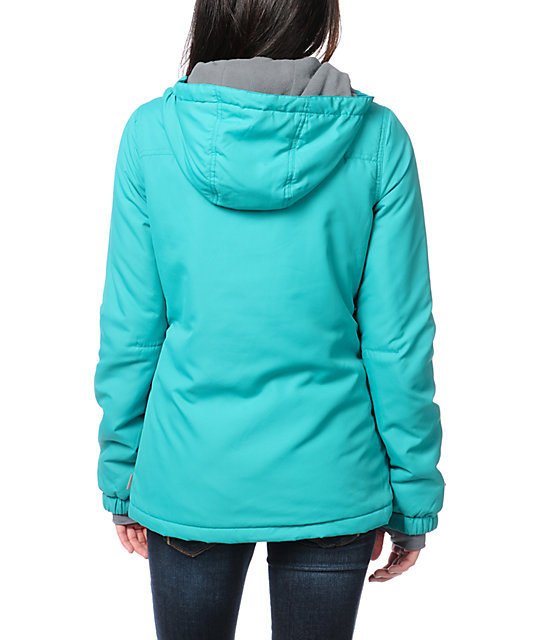 Billabong Ramos Teal Insulated Jacket