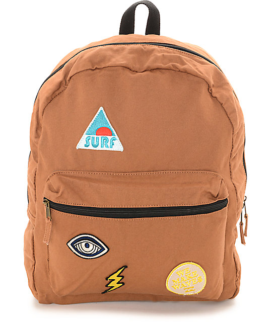 Billabong Rollin Waves Patch Backpack at Zumiez : PDP