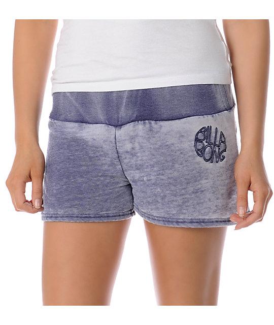 Billabong Shawty Midnight Fleece Shorts