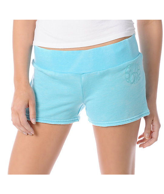 Billabong Shorts Stuff Aqua Fleece Shorts